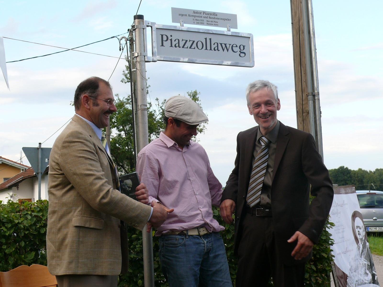 Piazzollaweg Festakt